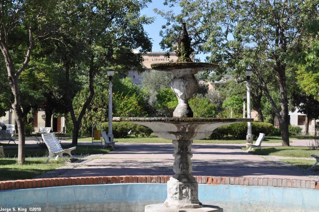 Fuente de Plaza San Marín