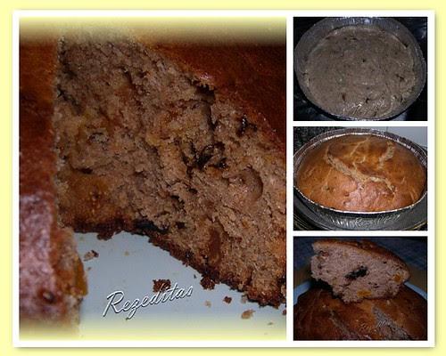 CAKE DE CENTENO Y FRUTAS SECAS