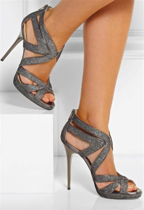 1000  ideas about Grey Wedding Shoes on Pinterest   Silver