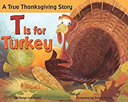 T is for Turkey children's book