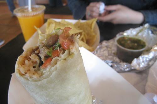 Mmmm, Anna's... / Free Burrrito at Chipotle?