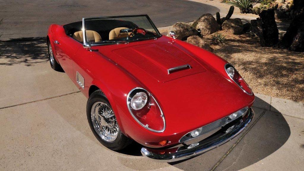 Photos of the Ferrari Replica from Ferris Bueller  Movie Car Up for Auction Photos