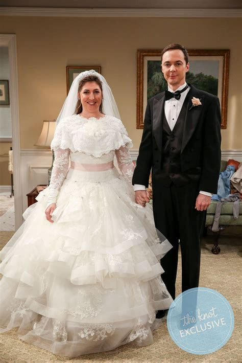Exclusive: Sheldon and Amy?s ?Big Bang Theory? Wedding Album