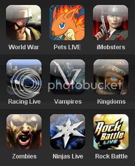 Storm8 games