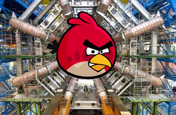Rovio and CERN teaming up on education hopefully the Angry Birds help us this time