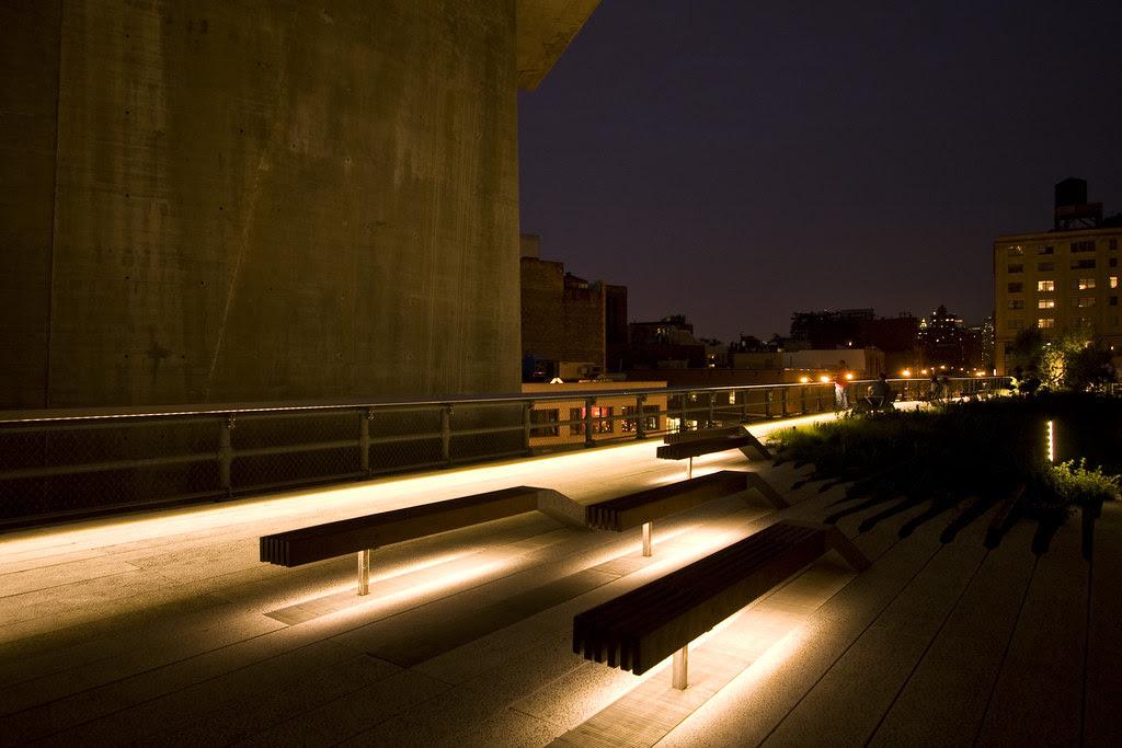 High Line at night