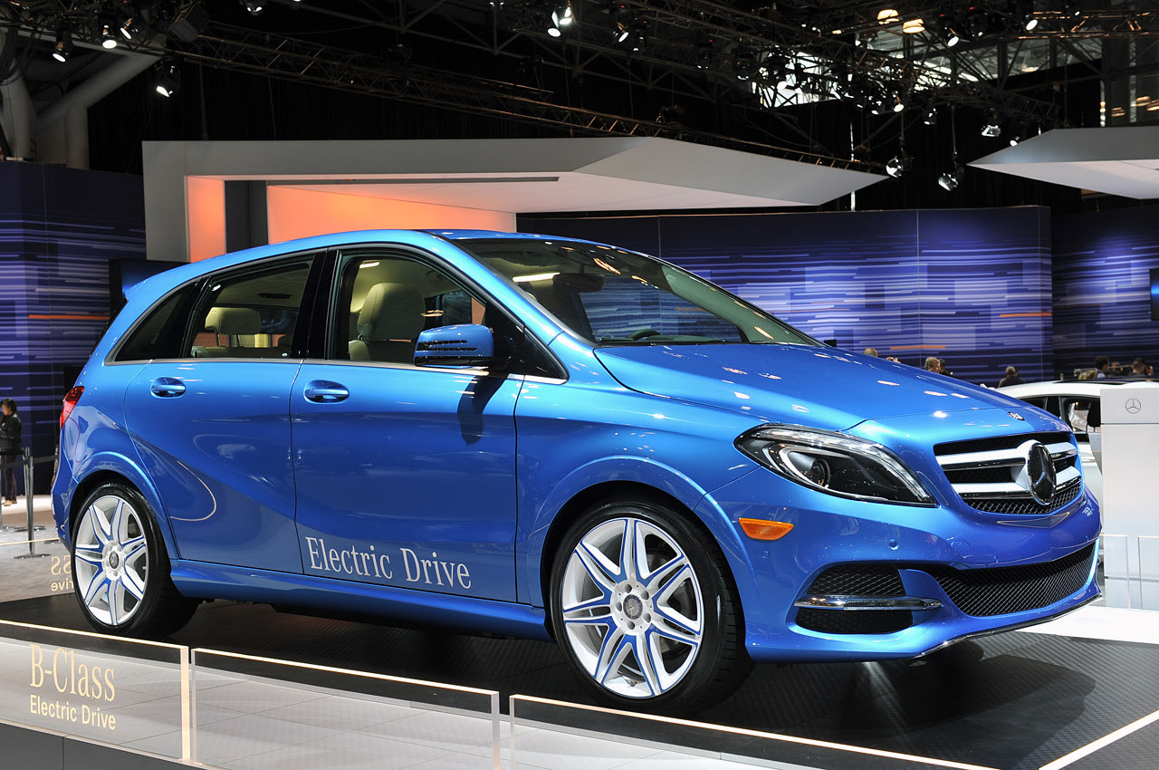 2014 Mercedes-Benz B-Class Electric Drive is headed for US ...
