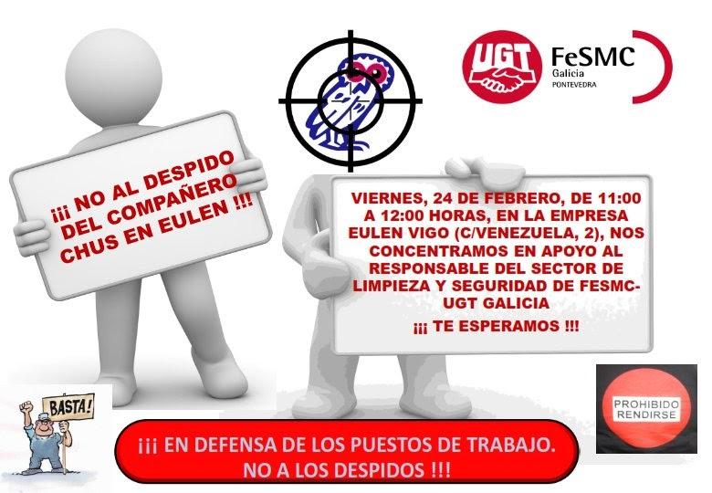 Seccio sindical ugt securitas catalunya el pr ximo d a 24 for Oficinas eulen