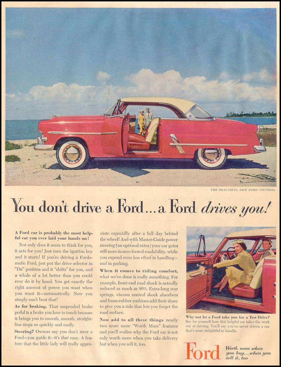 FORD AUTOMOBILES LIFE 08/17/1953 p. 14
