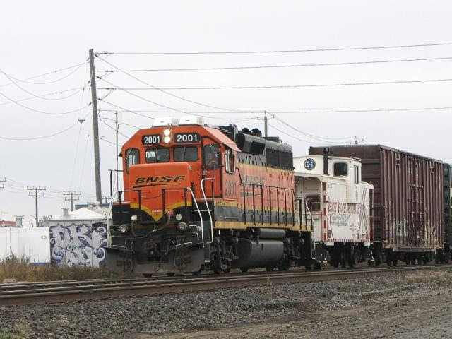 BNSF 2001 in Winnipeg
