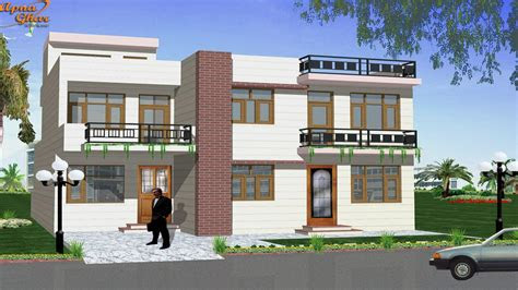 small duplex house design duplex house design home design