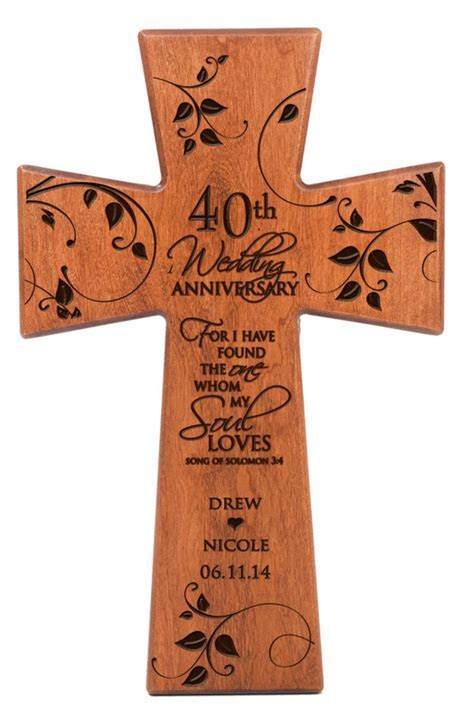 26 best 40th wedding anniversary gift ideas images on