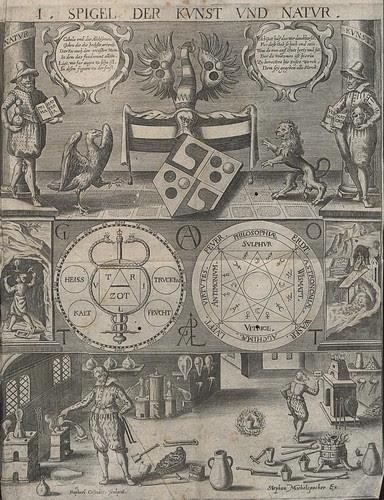 alchemy symbol from - Cabala, Spiegel der Kunst und Natur in Alchymia