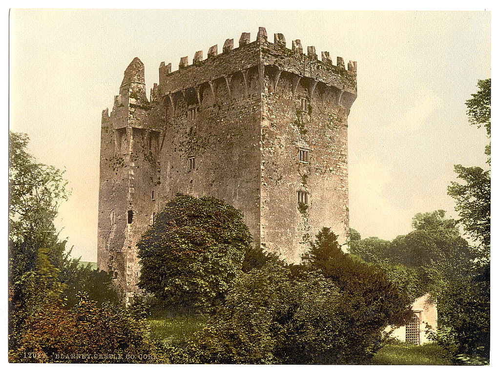 Blarney Castle. County Cork, Ireland