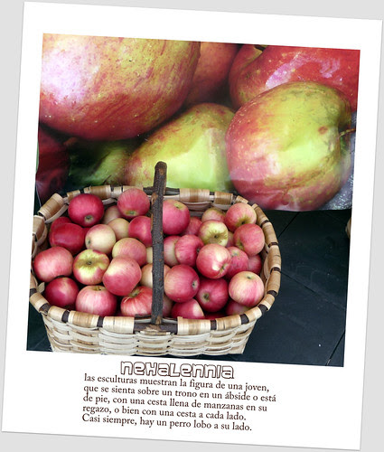 Nehalennia o la cesta de manzanas