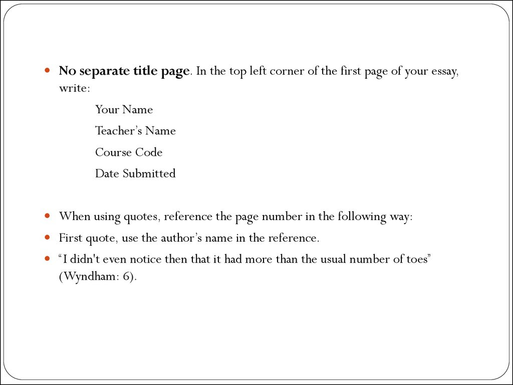 How to write authors names in essays