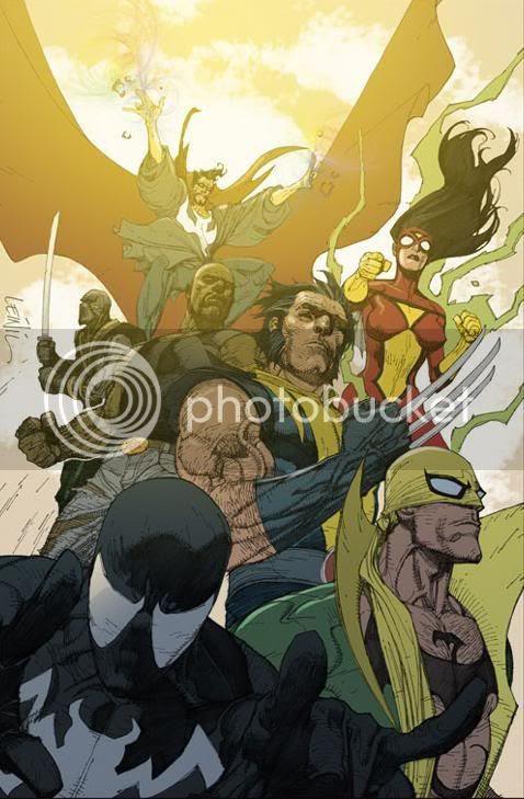 Novos Vingadores ? By Yu