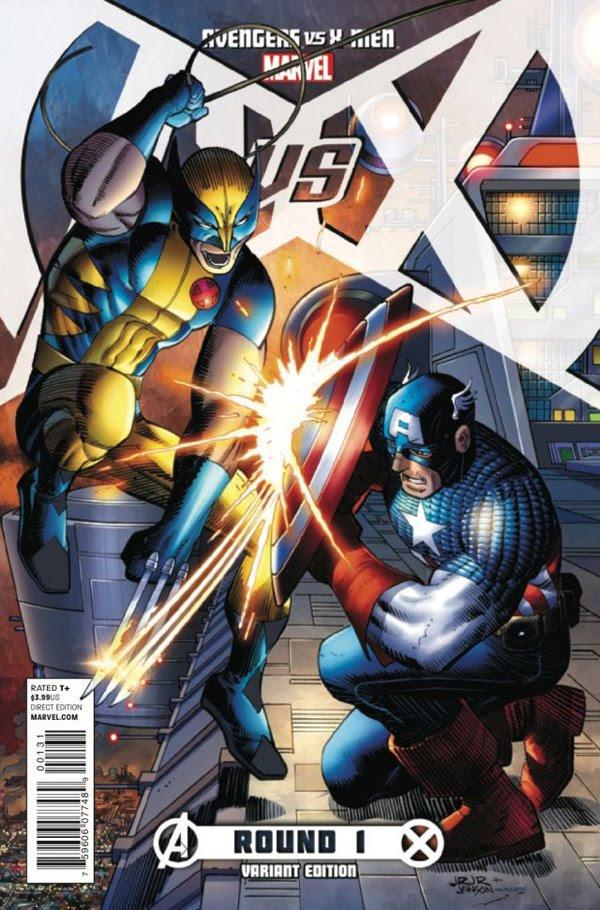 Avengers vs. X-Men #1 John Romita Jr. Variant