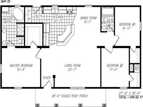 simple  story floor plans single story open floor plans