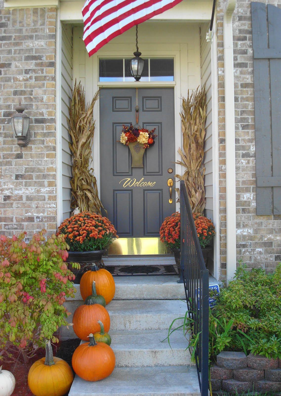 29 Fall Front Porch Ideas veranda