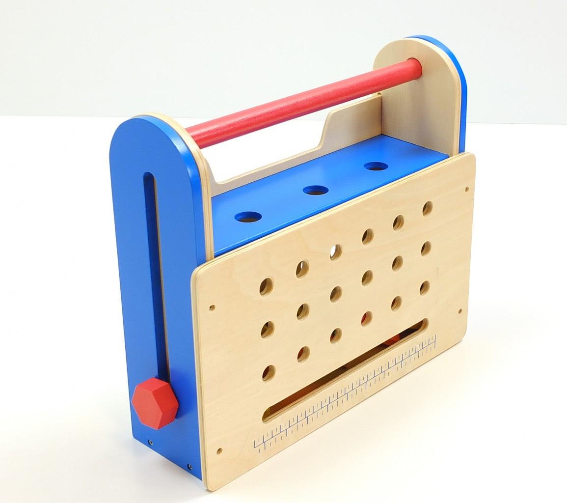 Zusammenklappbbare Werkzeugkiste/Werkbank aus Holz inkl ...