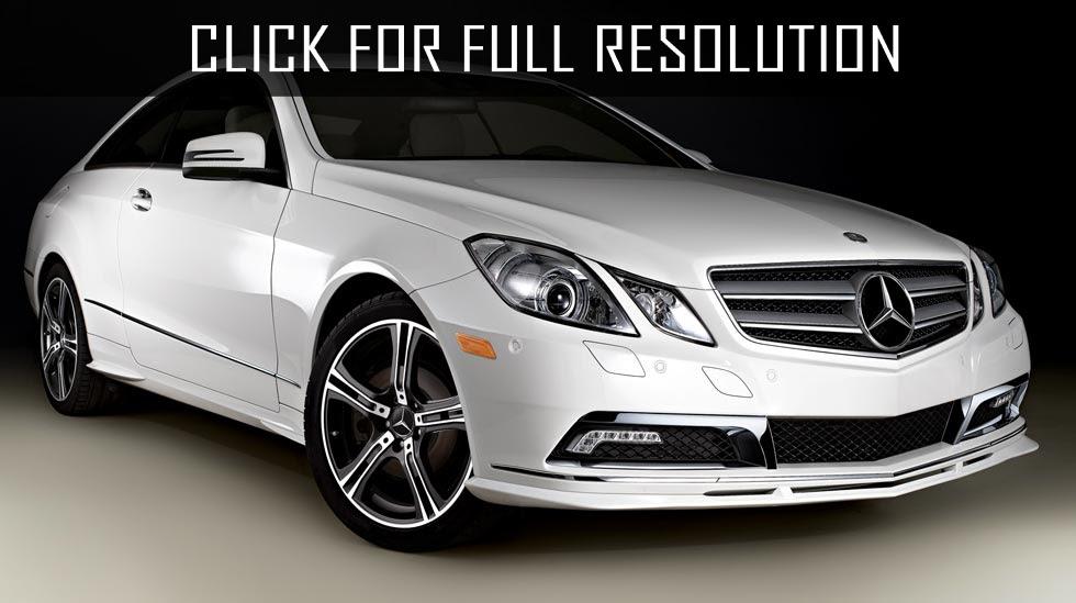 2012 Mercedes Benz E Class Coupe - news, reviews, msrp ...