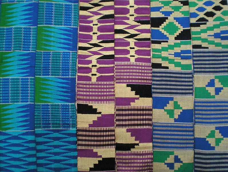 File:Ewe kente stripes, Ghana.jpg