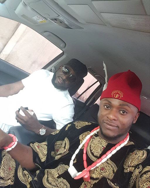 Photos from Lilian Esoro and Ubi Franklin's ongoing traditional wedding