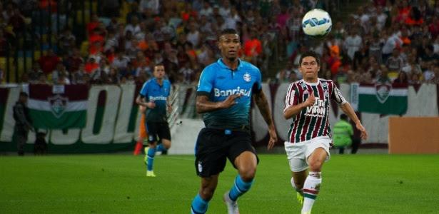 Osvaldo sentiu lesão enquanto participava da vitória sobre o Grêmio, no último sábado
