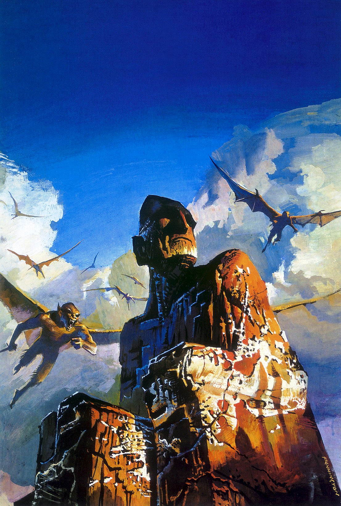 Bruce Pennington - The Stone God Awakens, 1976