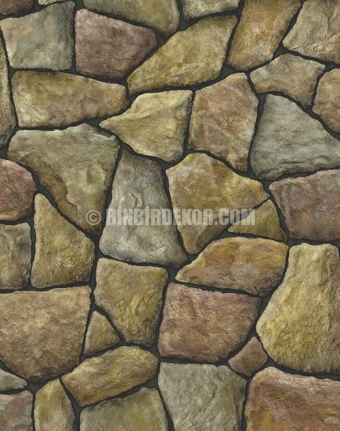 Taş Görünümlü Duvar Kağıtları Binbirdekorcom