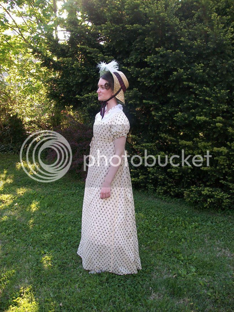block print Regency gown 1