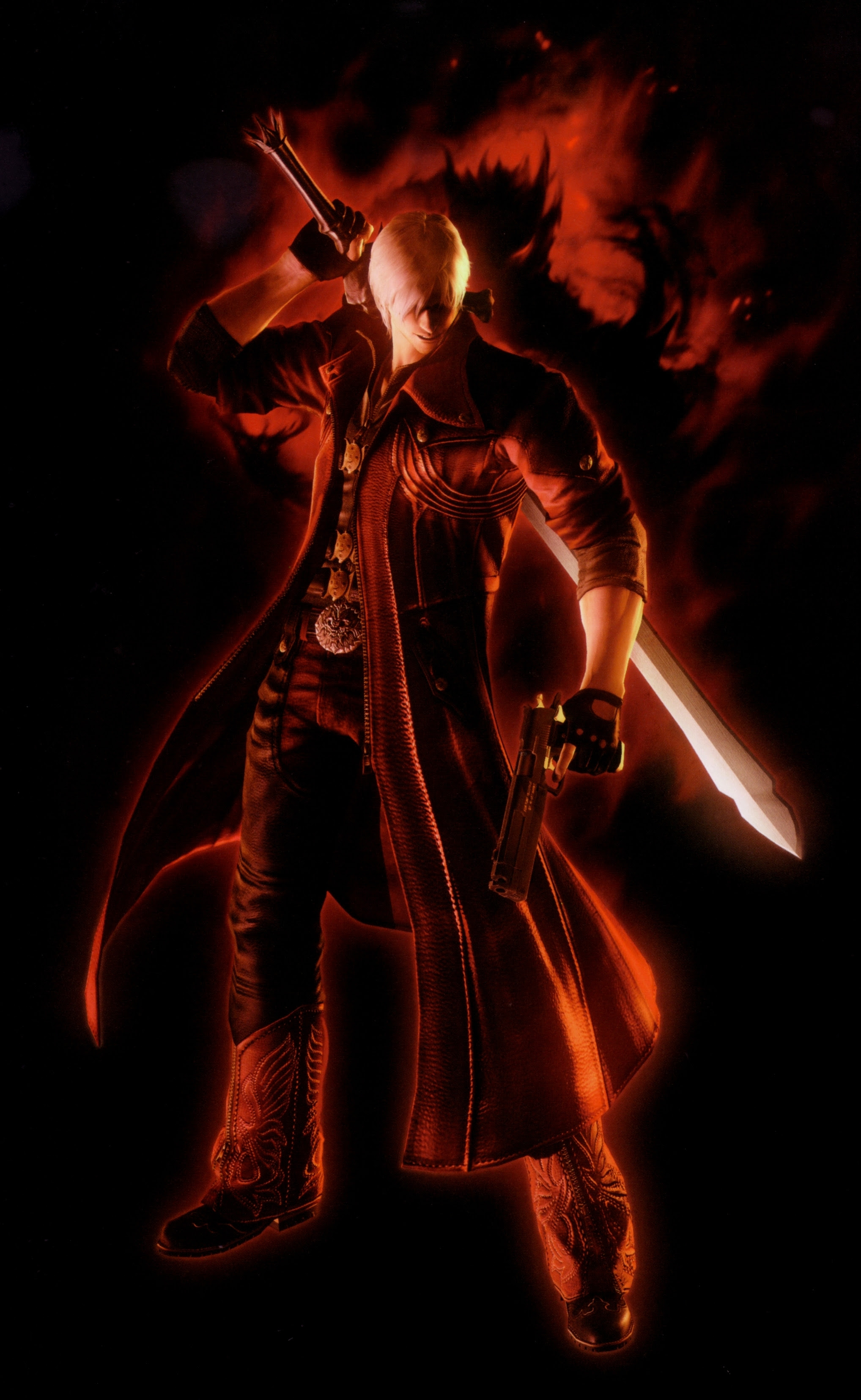 Devil May Cry Dante 2036x3308 Wallpaper High Quality Wallpapers