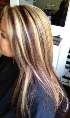 12 Beautiful Blonde Hairstyles With Red Highlights ...