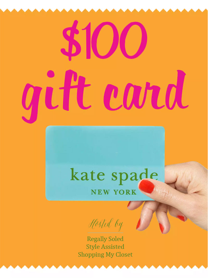 Kate Spade gift card giveaway