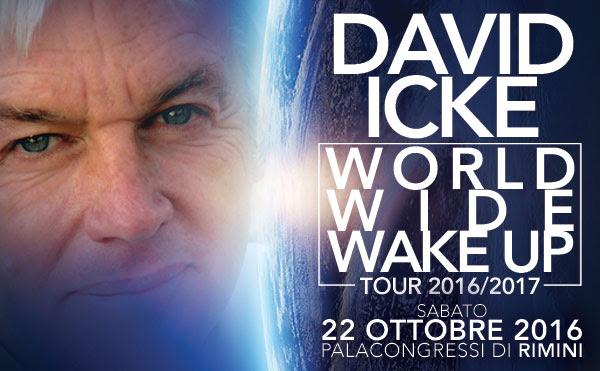 David Icke in Italia