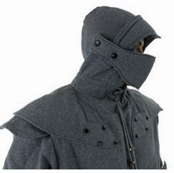 Hoodie Shaped Like Knight