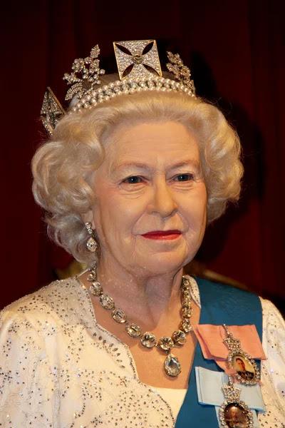 La reina Isabel ii — Foto de Stock #54357845