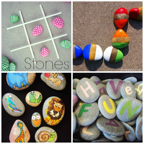 toys to make with stones for kids