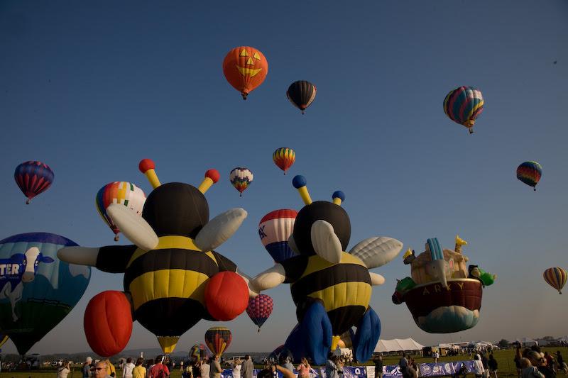 Readington Balloon Festival 2008