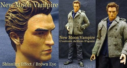 Custom release new moon vampire in 1 6 custom edward for New moon vampire movie