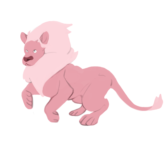 lion and also stevonie while i work on a bunch of other things