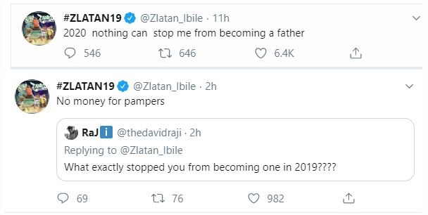 Zlatan Ibile shared one of his 2020 plan with fans