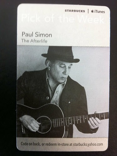Starbucks iTunes Pick of the Week - Paul Simon - The Afterlife