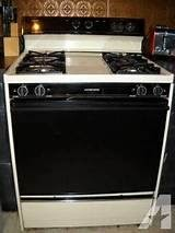 Gas Oven Tappan Gas Oven