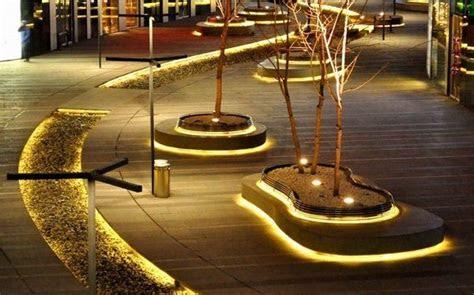 outdoor led strip lighting garden lighting ideas modern