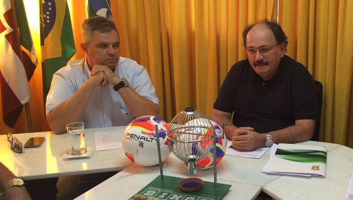 FNF sorteio campeonato potiguar 2016 (Foto: Jocaff Souza/GloboEsporte.com)