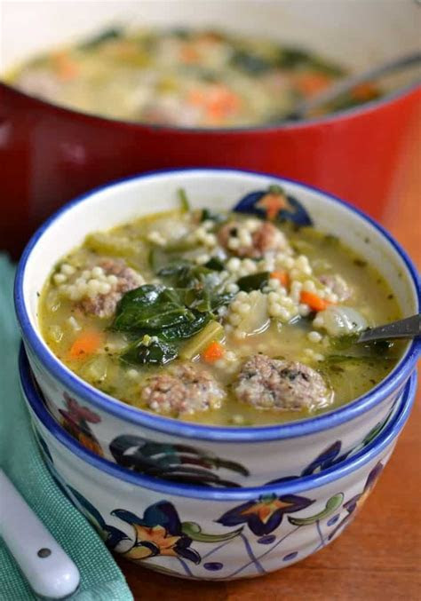 Best Ever Italian Wedding Soup Recipe   Small Town Woman
