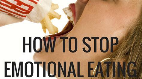 stop emotional eating gain control  food