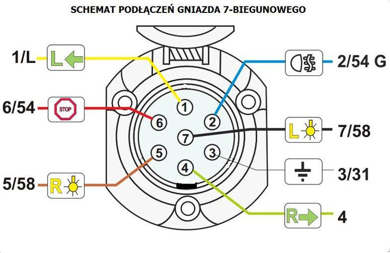 21 Images 7 Way Semi Trailer Plug Wiring Diagram